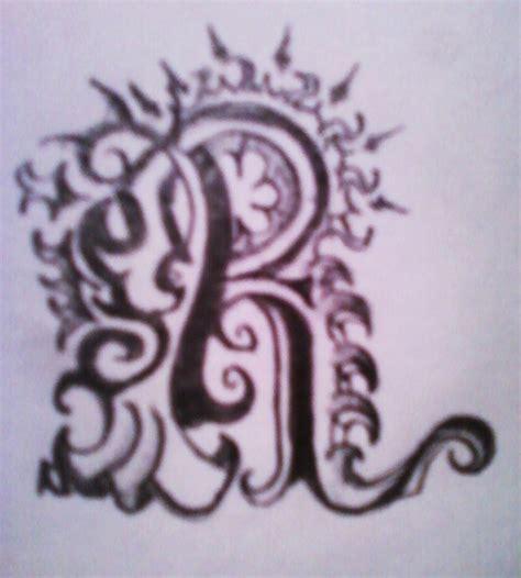 tattoo design letter r letter r tribal tattoo www imgkid com the image kid
