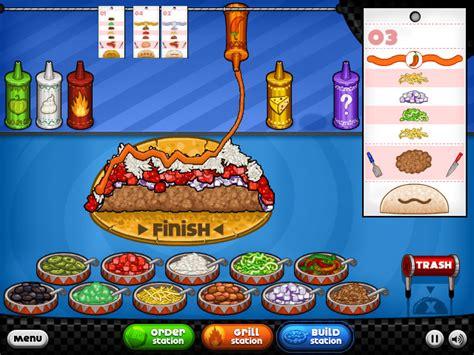 papa taco jeux gratuits en ligne