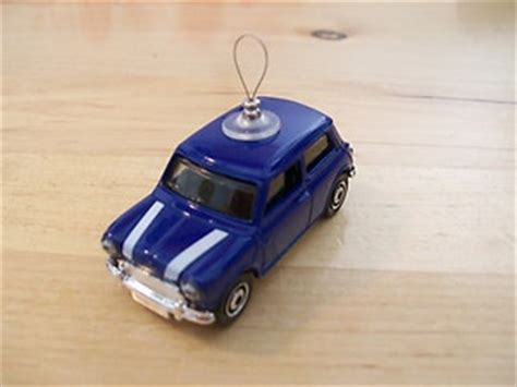 mini cooper ornament 1964 mini cooper s blue tree ornament