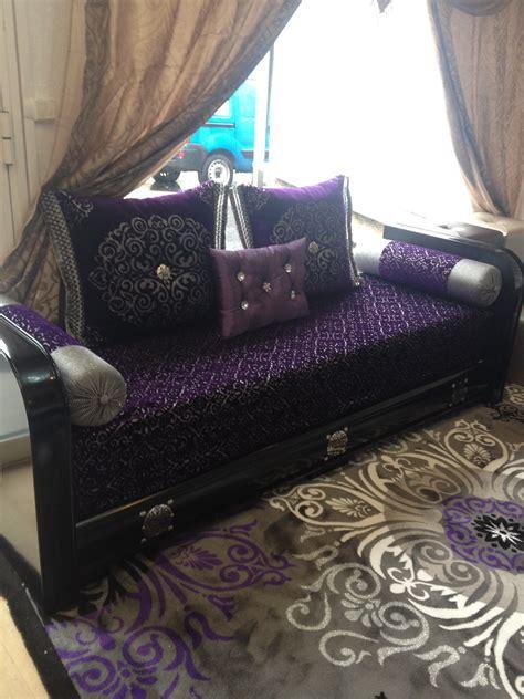 diamants sur canapé housse salon marocain moderne