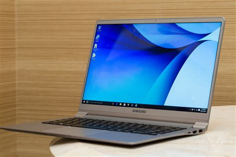 samsung s notebook 9 laptops take thin and light to a beautiful the verge