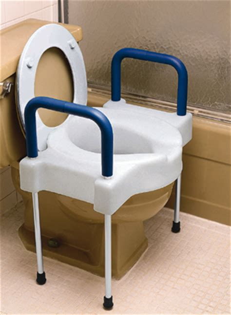 extra wide tall ette elevated toilet seat  legs