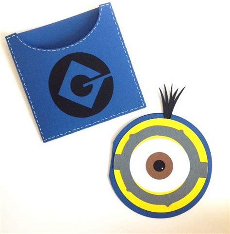 Handmade Minion Invitations - best 25 handmade invitations ideas on 1st