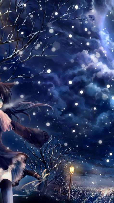 anime hd wallpaper for iphone 6 plus anime wallpaper anime wallpaper winter nature winter