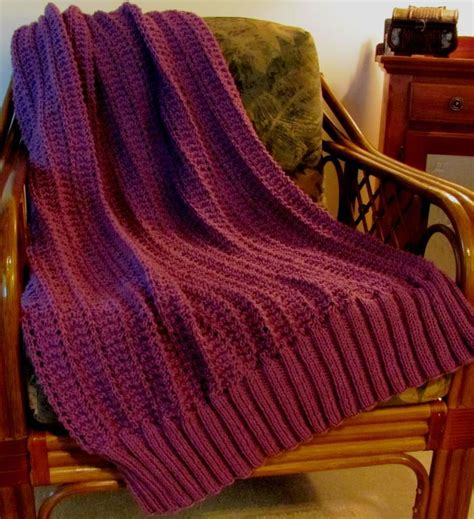easy knitted afghan patterns marian easy knit by skerin k and c knitting pattern