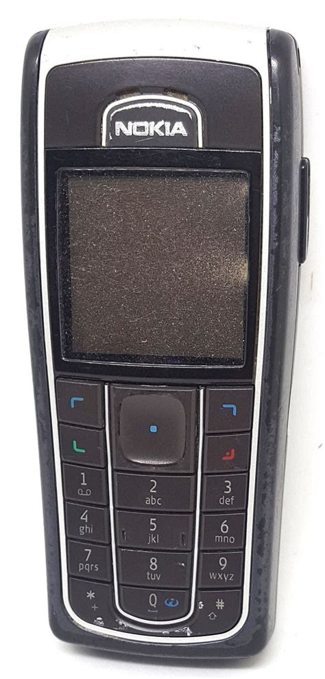 Nokia 6230 I nokia 6230i black classic cheap durable simple mobile