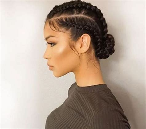 side braids for woman over 60 25 best ideas about cornrows updo on pinterest cornrow