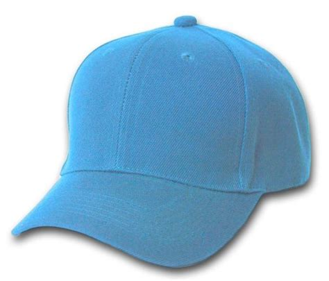 light blue mlb hats plain baseball cap blank hat solid color velcro adjustable