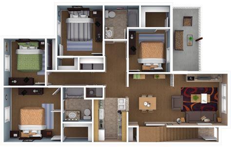 4 bedroom apartment floor plans apartments in warsaw indiana floor plans