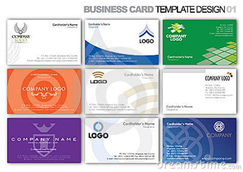 business id template business card template design 001 royalty free stock