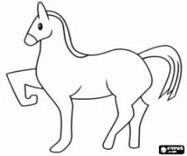 coloriage chevaux 224 imprimer