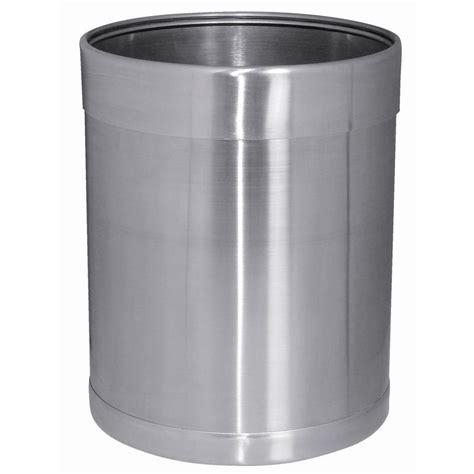 Bolero Stainless Steel Waste Paper Bin   CF130