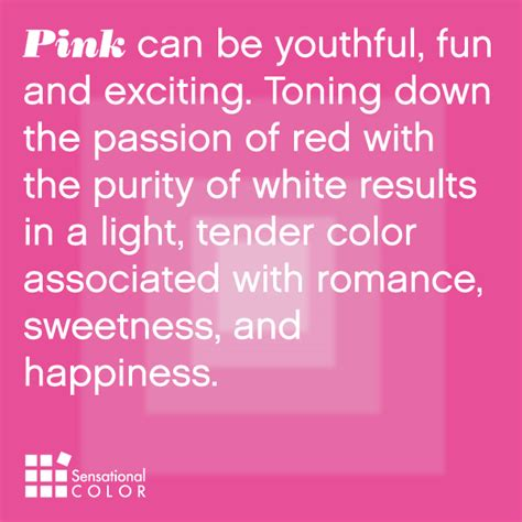 pink color meaning meaning of the color pink sensational color