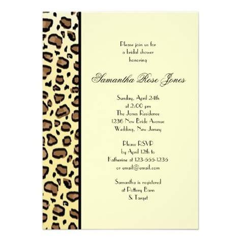 animal print wedding invitations 232 best animal print wedding invitations images on