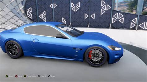 build maserati forza horizon 3 maserati gran turismo s build