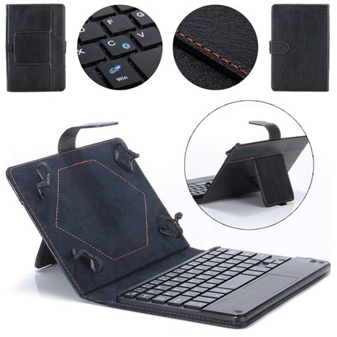 porta tablet con tastiera universale 10 pollici tastiera bluetooth porta astuccio in