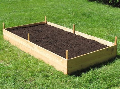 building garden beds how to build a cedar raised garden bed dengarden