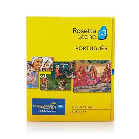 rosetta stone brasil rosetta stone portuguese brazilian with audio companion