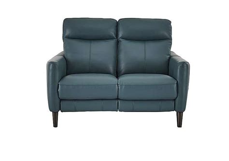 2 seater leather recliner sofa compact collection petit 2 seater leather recliner sofa