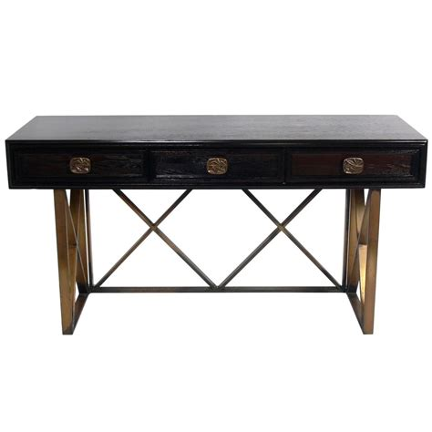 elegant sofa tables elegant console table or desk at 1stdibs