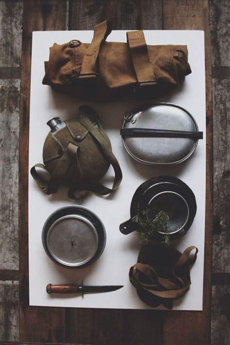 Handmade Outdoor Gear - vintage boy scouts of america rucksack mess kit