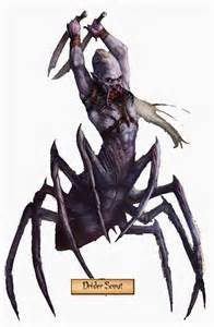 realms of chirak can a drider spin webs