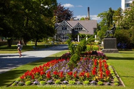 Curators House And Botanic Gardens Hagley Park Botanic Gardens Christchurch