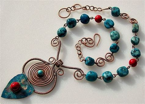 Jewelry Handmade Designs - wire jewelery