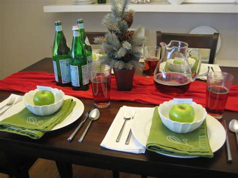 how to set a christmas table christmas table setting without a store decor hacks