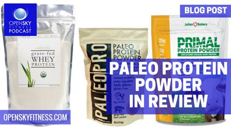 protein powder reviews paleo protein powder in review