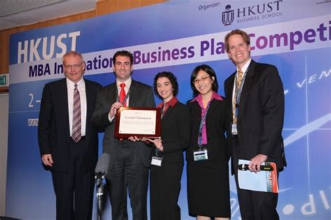 Business Plan Competitions Mba by Hkust Business School International Business Plan