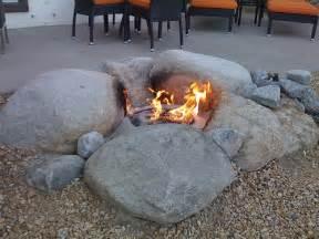 rocks for firepit best 25 rustic pits ideas on backyard