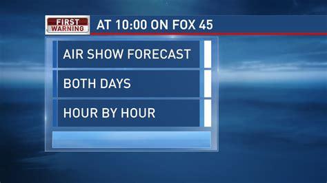fox 45 dayton facebook meteorologist jamie simpson will break down both air show