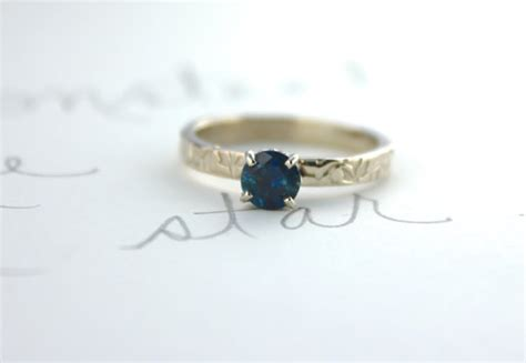 montana sapphire engagement ring blue sapphire