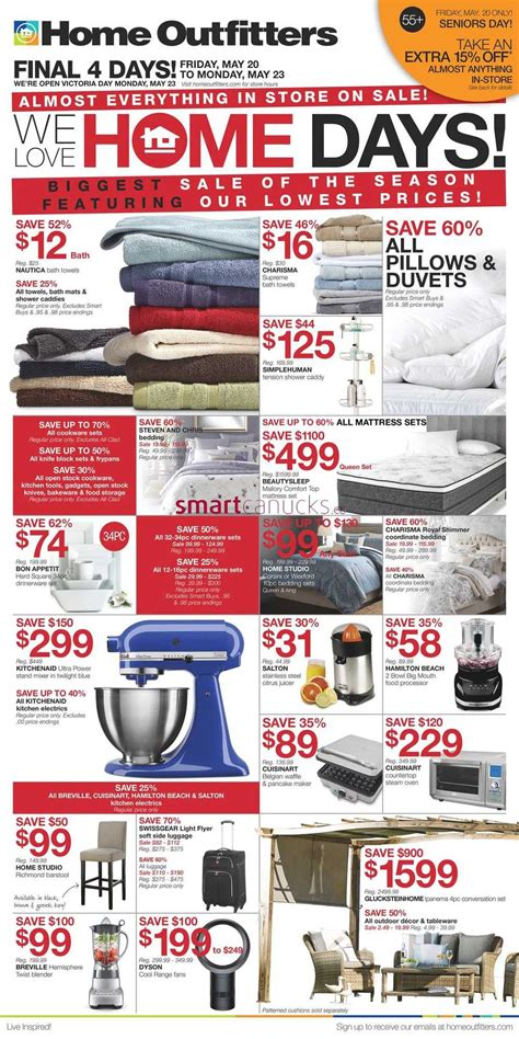 home outfitters flyer may 20 to 26