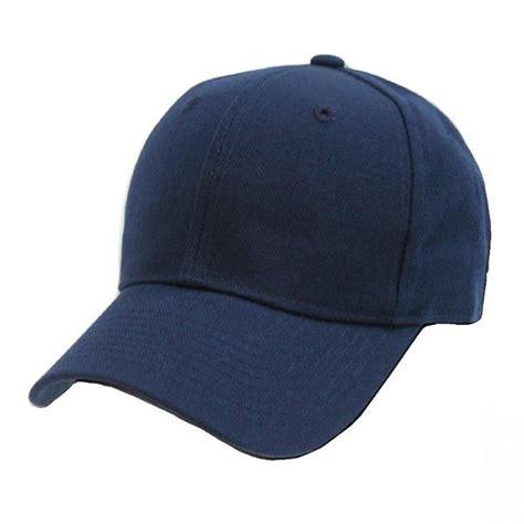 Topi Baseball Biru Kotak plain baseball caps blue hat cap new ebay