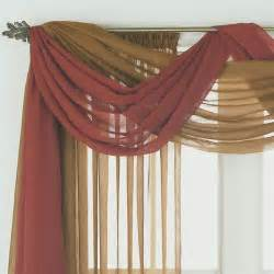 Valance Curtains Scarf Valance On Window Scarf Swag Curtains