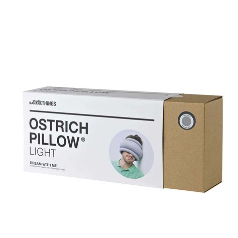 ostrich pillow light mysleep by resmed united kingdom