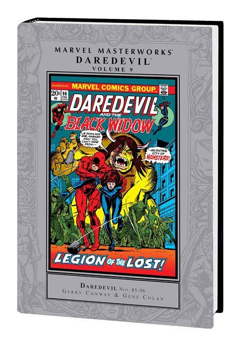 marvel masterworks daredevil vol 12 daredevil vol 9 marvel masterworks fresh comics