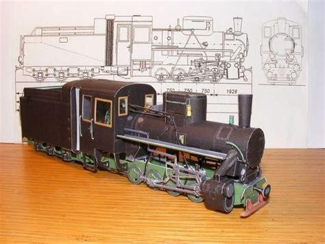 Craftowntoys Railroad Track Toys Papercraft sžd baureihe kp4 locomotive free paper model