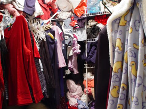 messy closet too much of a good thing what to do with an overstuffed