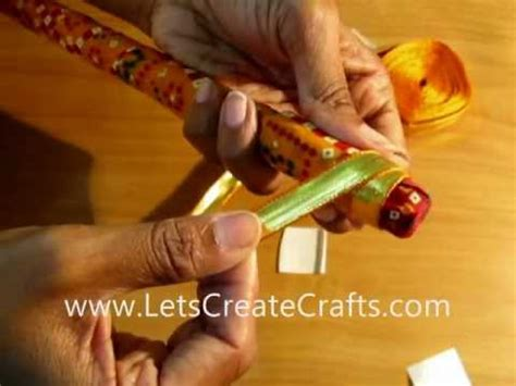 decorate your dandiya sticks