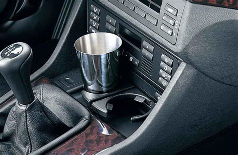 Child Car Sun Blinds Bmw Genuine Front Center Console Drink Cup Holder Black