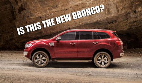 2020 Ford Bronco Look by What Will The 2020 Ford Bronco Look Like Crankshaft Culture