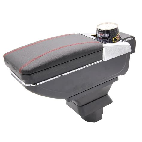 Promo Console Box Arm Rest Pendek Daihatsu All New Xenia Bw 77d Barang car armrest leather console storage box decoration for suzuki 2005 2014 car armrest