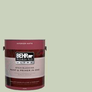 behr premium plus ultra 1 gal ul210 12 jade interior flat enamel paint 175001 the