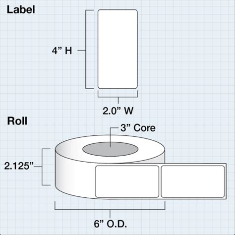 Label Barcode Industri 2x4 50cmx100cm 1 primera 74856 barcodefactory