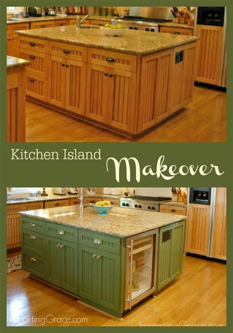 kitchen island makeover best 25 kitchen center island ideas on blue