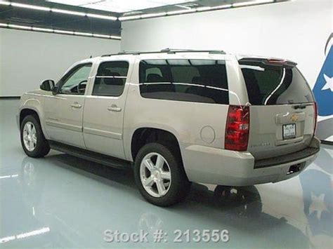 chevrolet suburban 7 seats find used 2009 chevy suburban 2lt 7 passenger leather 20