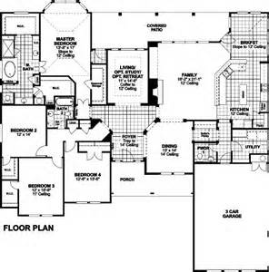 Ryland Home Floor Plans Jefferson Floor Plan In Rockwall Ranch Ryland Homes
